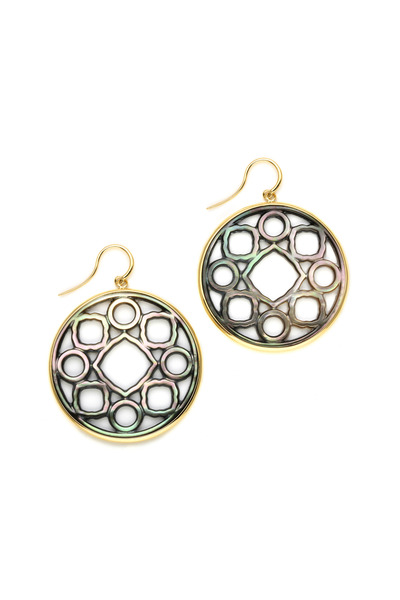 Syna - Mother of Pearl Earrings