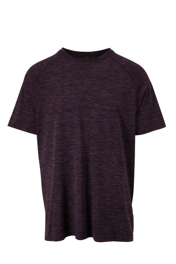Rhone Apparel Reign Tech Violet & Black T-Shirt