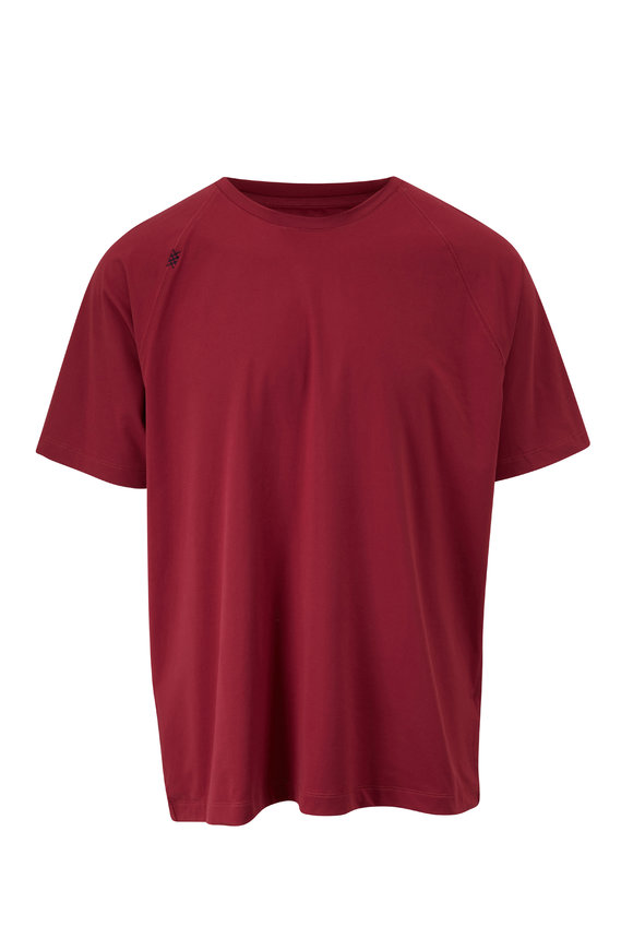 Rhone Apparel Reign Burgundy Short Sleeve T-Shirt