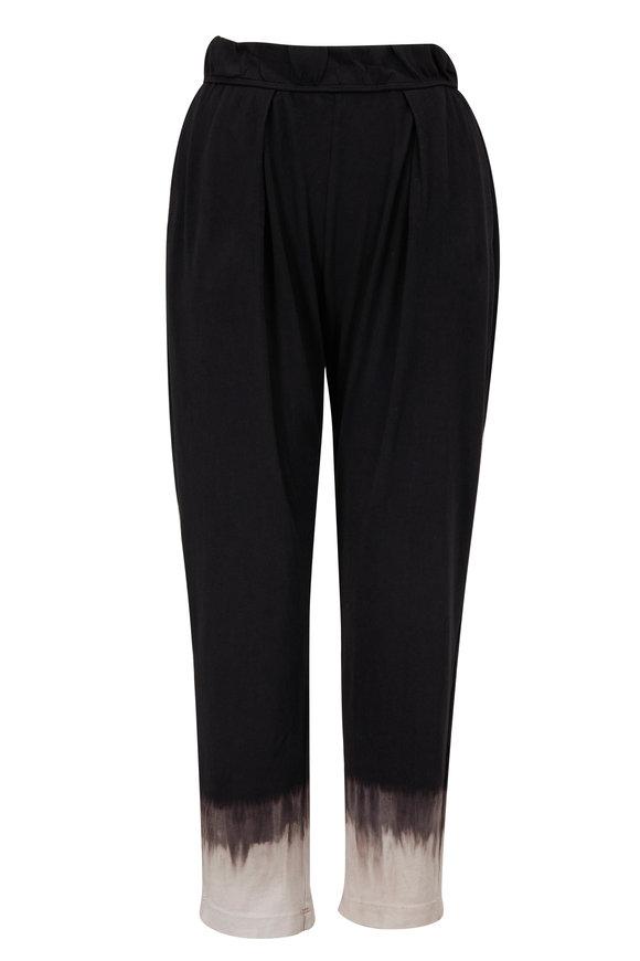 Raquel Allegra Easy Black Horizon Jersey Pant