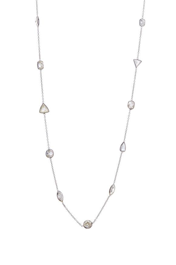 Renee Lewis Fancy Cut Diamond Necklace