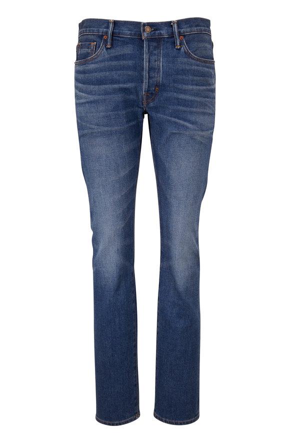 Tom Ford Cornflower Blue Comfort Denim Jean