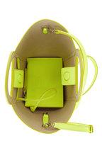 Tod's - Gommini Yellow Leather Mini Tote