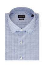 Ermenegildo Zegna - Blue Tonal Plaid Sport Shirt