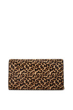 Jimmy Choo - Elish Cheetah Print Pony Hair Clutch