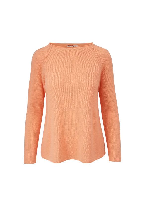 Lafayette 148 New York Clementine Cashmere Textured Stitch Sweater