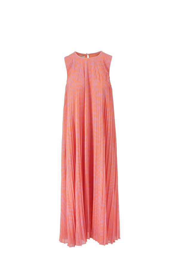 Lafayette 148 New York Willow Dahlia Multi Sleeveless Sheath Dress