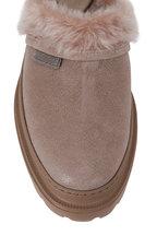 Brunello Cucinelli - Elefante Buff Leather Shearling Lined Clog