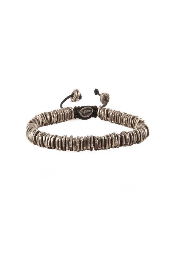 M. Cohen Oxidized Silver Bead Bracelet