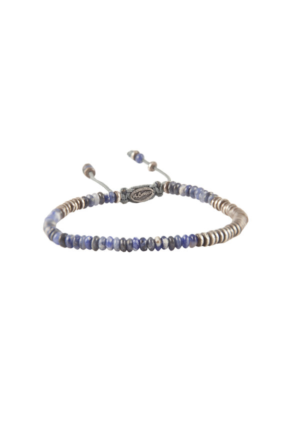 M. Cohen Silver Mini Gemstone Bracelet