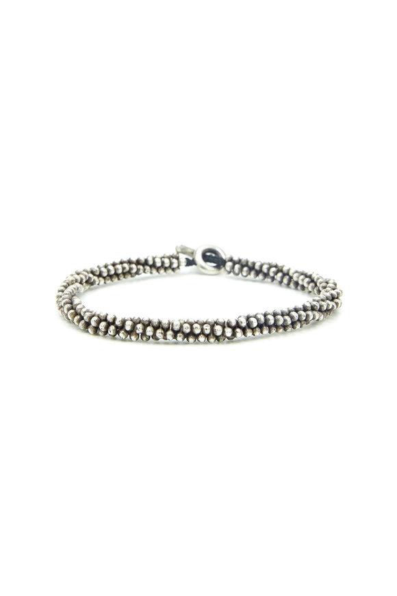 M. Cohen Sterling Silver Mini Bead Bracelet