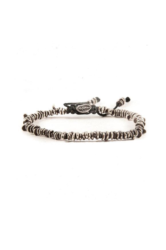 M. Cohen Silver Medium Nugget Bracelet