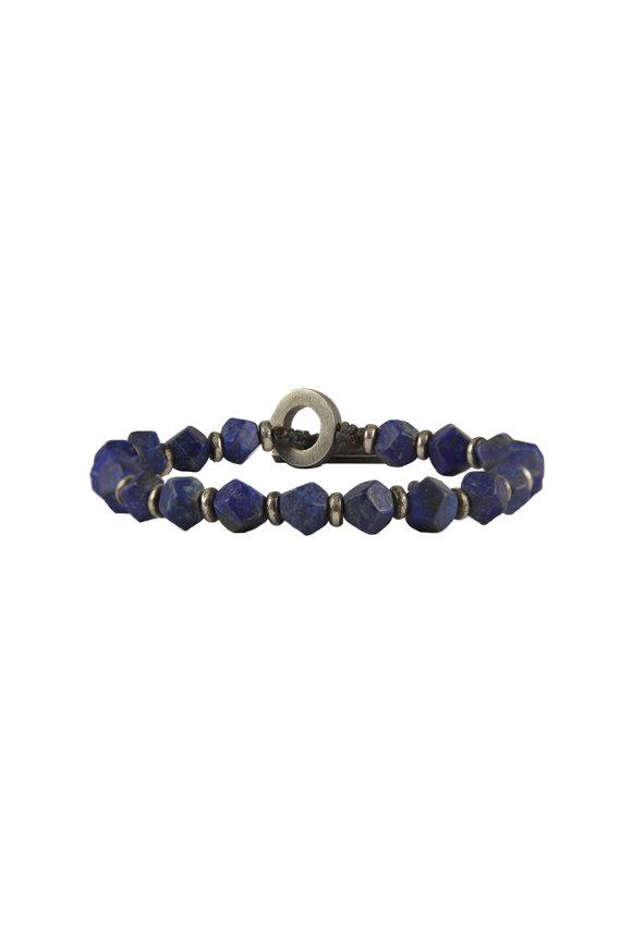 M. Cohen Matte Lapis Bracelet