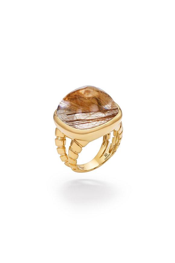 Marina B Yellow Gold Tigella Ring