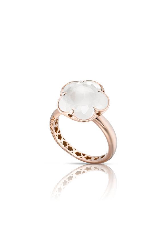 Pasquale Bruni Rose Gold Bon Ton Single Stone Ring