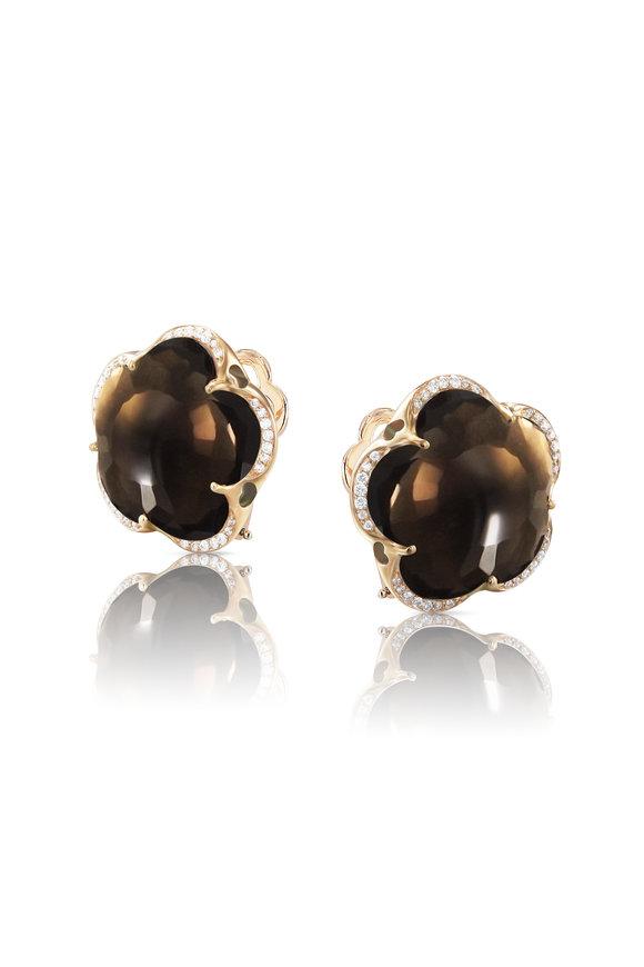 Pasquale Bruni Rose Gold Bon Ton Single Stone Earrings