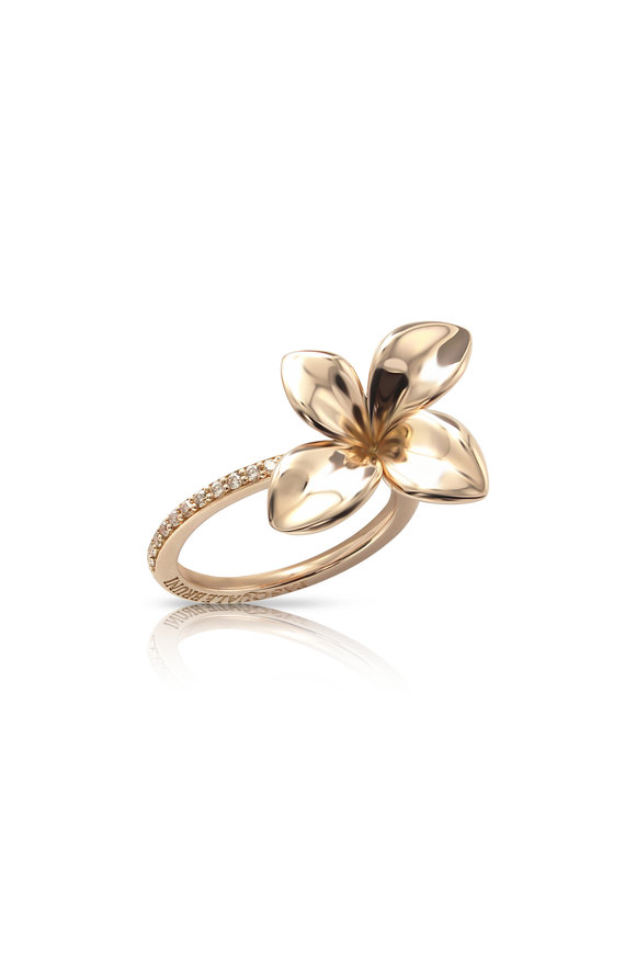 Pasquale Bruni Rose Gold Petite Garden Ring