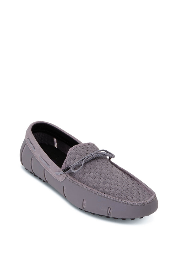 Swims Gray & Black Woven Boat Driver