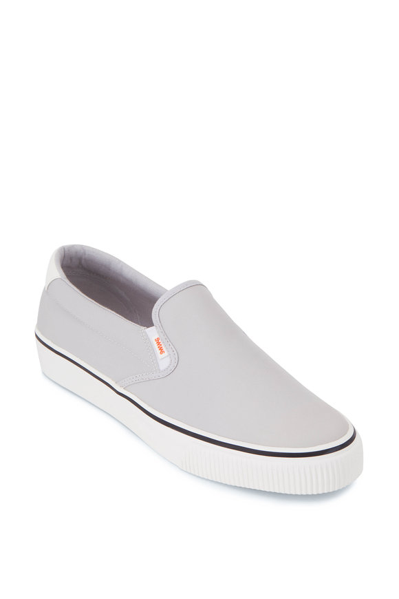 Swims 24 Hour Gray Slip On Sneaker