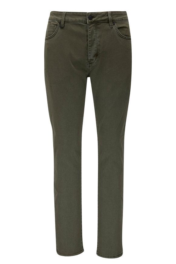 NEUW Lou Liberte Green Slim Fit Stretch Jean