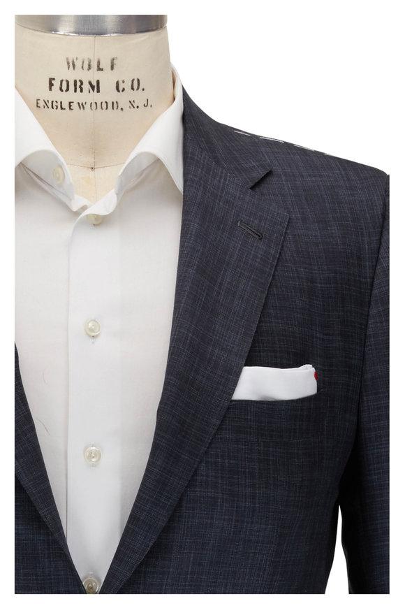 Kiton Midnight Cashmere & Silk Suit