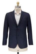 Brioni - Midnight Check Cashmere Sportcoat