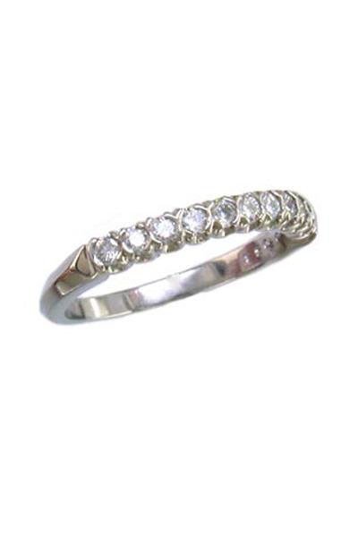 Oscar Heyman - Diamond Eternity Guard Ring