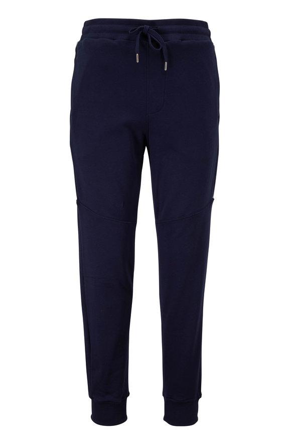 WAHTS Logan Navy Blue Cuffed Sweatpant