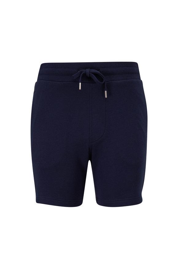 WAHTS Troy Navy Blue Sweatshort