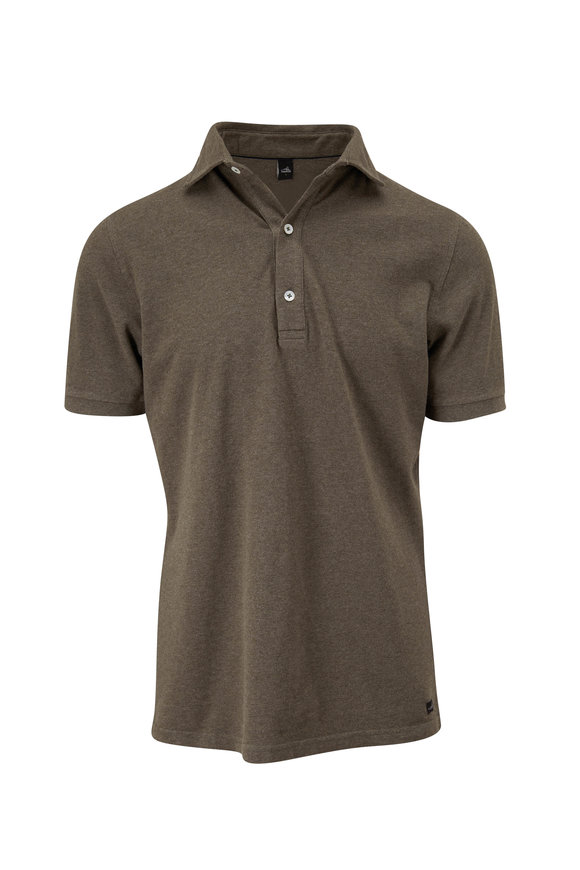 WAHTS Light Green Tailored Short Sleeve Polo