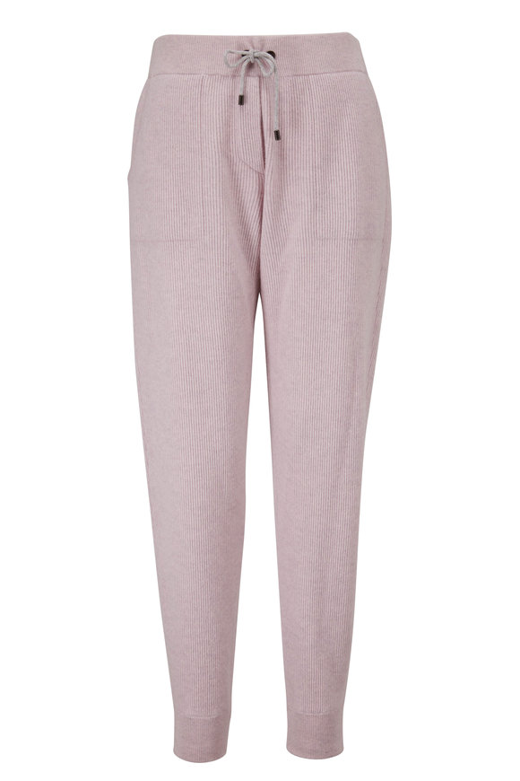 Antique Rose Wool & Cashmere Spa Pant