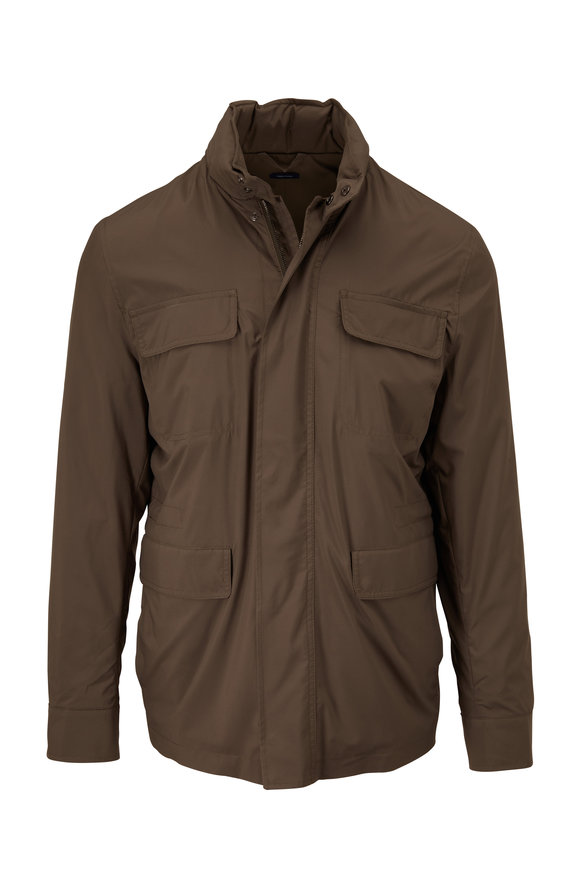 Peter Millar Excursionist Flex Discovery Terrace Green Jacket