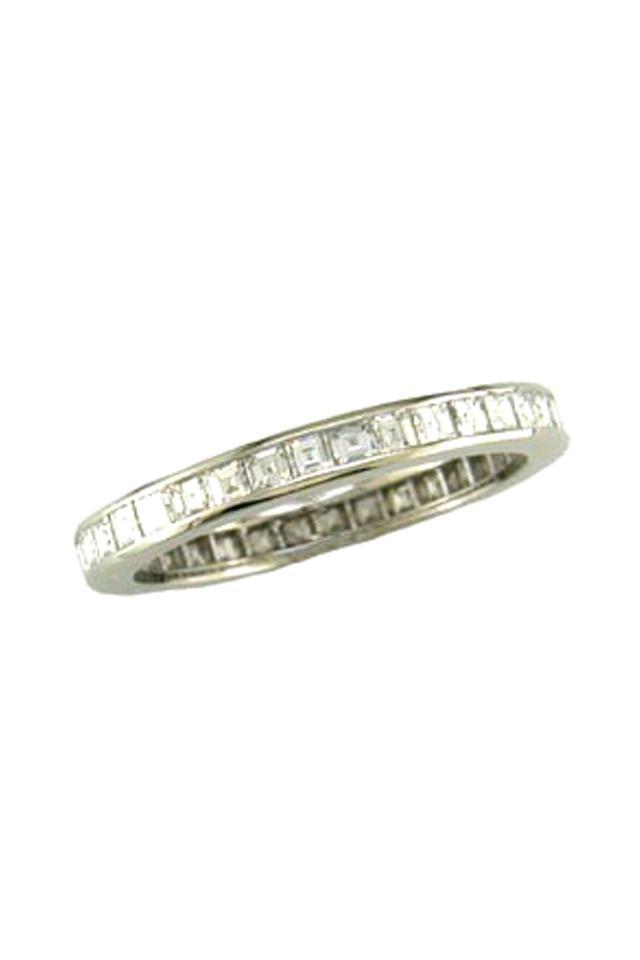 Square Diamond Guard Ring
