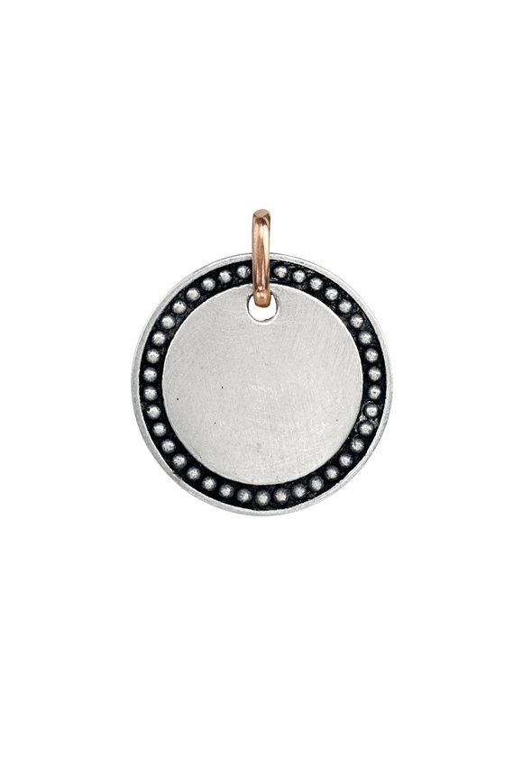 .925Suneera Sterling Silver & Gold Zoi Pendant