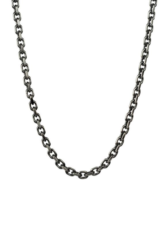 .925Suneera Sterling Silver Chain Necklace