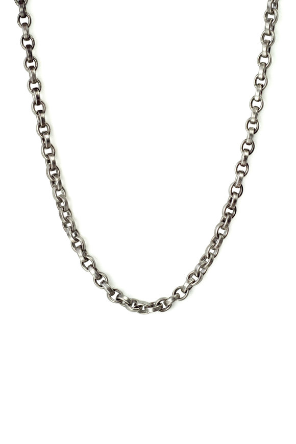 .925Suneera Sterling Silver Bell Chain