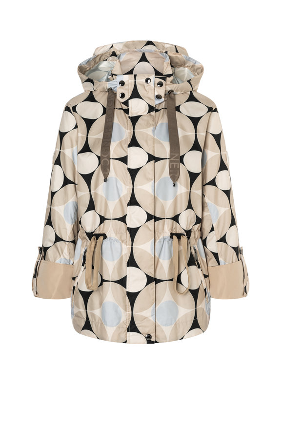 Bogner Estee Desert Sand Print Hooded Jacket
