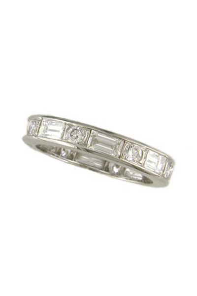 Oscar Heyman - Platinum Diamond Ring Guard