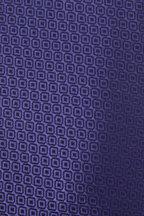 Charvet - Blue & Navy Patterned Silk Necktie