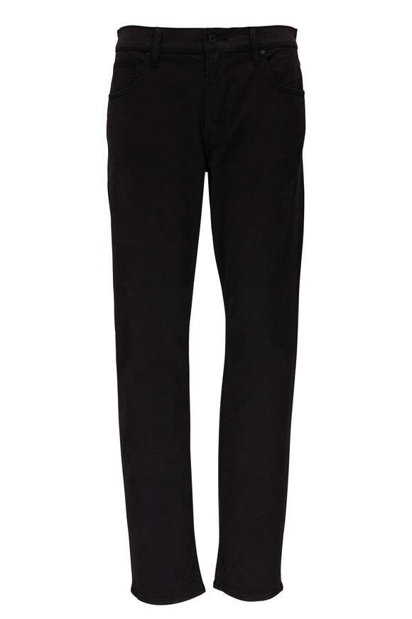 Hudson Clothing Blake Black Slim Straight Jean