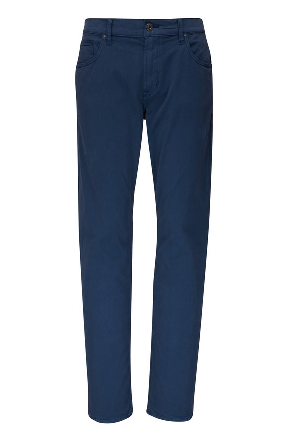 Hudson Clothing Blake Navy Slim Straight Jean