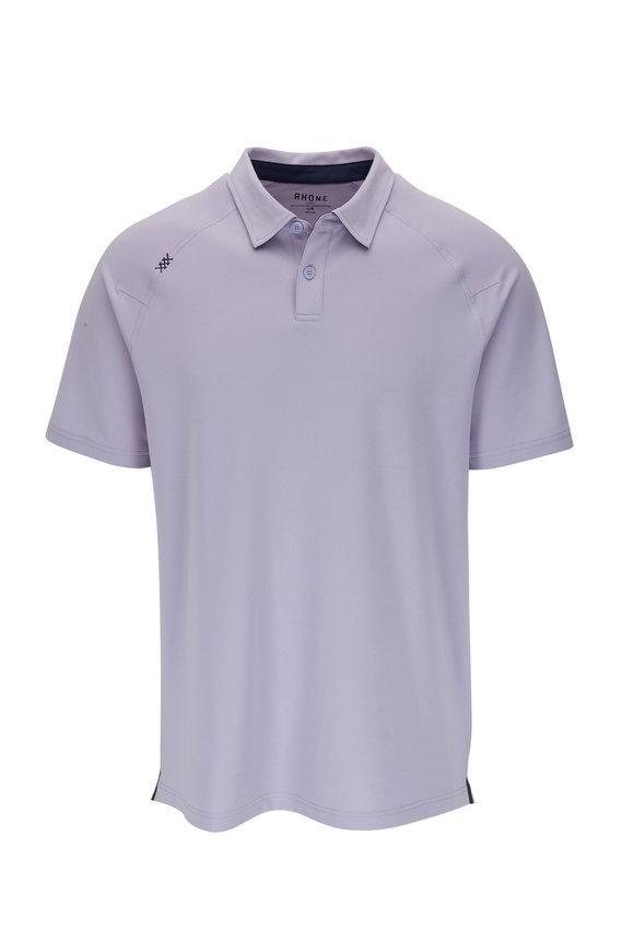 Rhone Apparel Delta Lavender Short Sleeve Polo