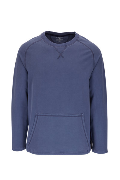 Rhone Apparel - Bolinas Sun Dyed Indigo Crewneck Sweatshirt