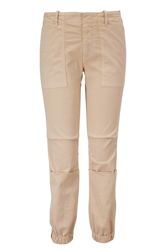 Nili Lotan Military Almond Cropped Pant