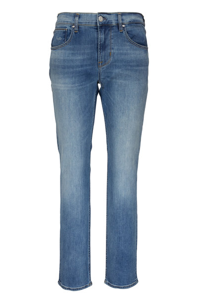 Hudson Clothing - Black Sultan Mid-Rise Slim Straight Jean