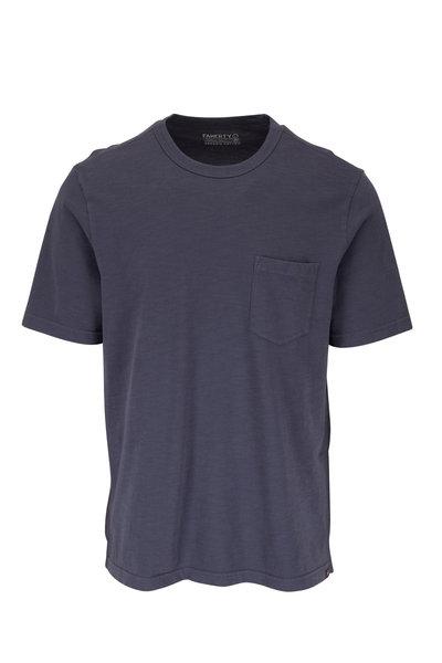 Faherty Brand - Navy Sunwashed Pocket T-Shirt