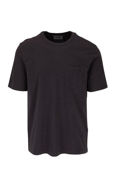 Faherty Brand - Washed Black Sunwashed Pocket T-Shirt