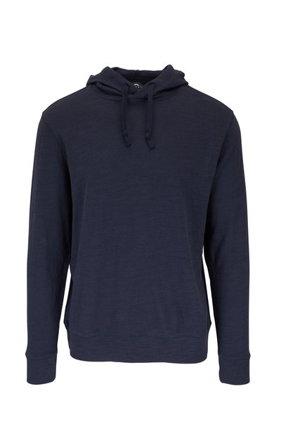 Faherty Brand - Blue Nights Organic Cotton Slub Hoodie