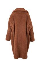 Max Mara - Teddy Camel Wool & Silk Coat