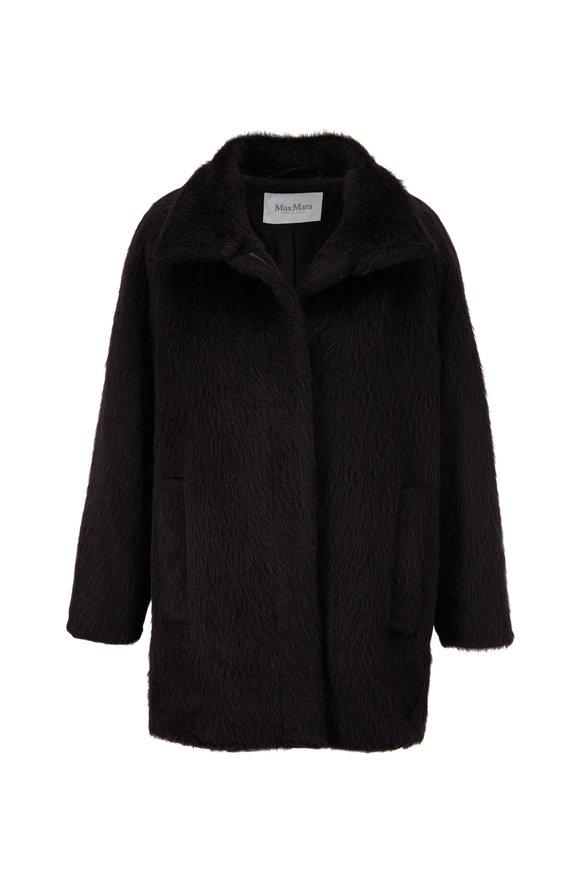 Max Mara Rete Black Short Coat